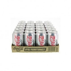 COCA LIGHT 33CL X24